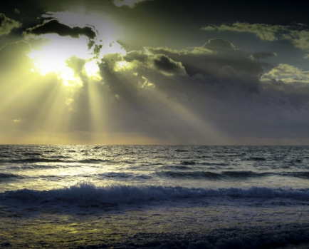 Sometimes our darkest moments have rays of hope that we never expected.